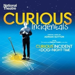Curious Incidentals Soundtrack (Adrian Sutton) - CD cover