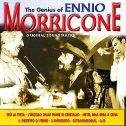 The Genius of Ennio Morricone Soundtrack (Ennio Morricone) - CD cover