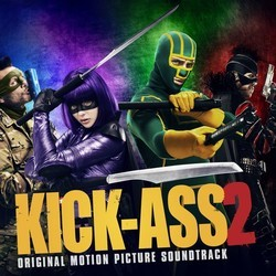 Kick-Ass 2 Soundtrack (Various Artists) - CD cover