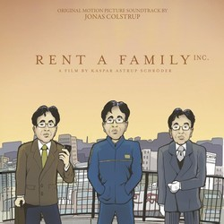 Rent A Family Inc. Soundtrack (Jonas Colstrup) - CD cover