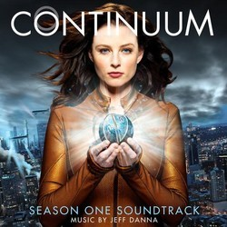 Continuum Soundtrack (Jeff Danna) - CD cover