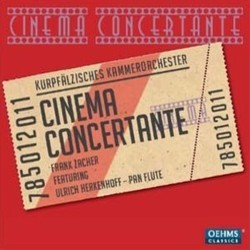 Cinema Concertante Soundtrack (Various Artists) - CD cover