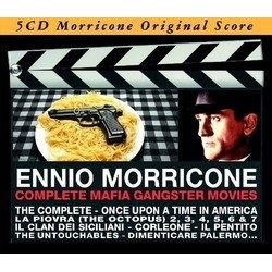 Ennio Morricone: Complete Mafia Gangster Movies Soundtrack (Ennio Morricone) - CD cover