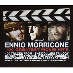 Ennio Morricone: 100 Greatest Movie Hits Soundtrack (Ennio Morricone) - CD cover