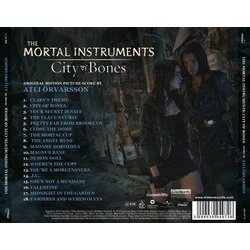 The Mortal Instruments: City of Bones Soundtrack (Atli �rvarsson) - CD Back cover