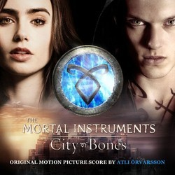 The Mortal Instruments: City of Bones Soundtrack (Atli �rvarsson) - CD cover