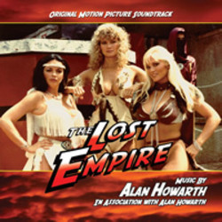 The Lost Empire Soundtrack  (Alan Howarth) - CD cover