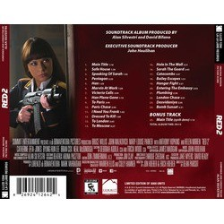 Red 2 Soundtrack (Alan Silvestri) - CD Back cover