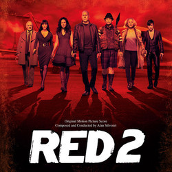 Red 2 Soundtrack (Alan Silvestri) - CD cover