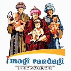 I Magi Randagi Soundtrack (Ennio Morricone) - CD cover