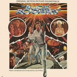 Buck Rogers in the 25th Century Trilha sonora (Stu Phillips) - capa de CD
