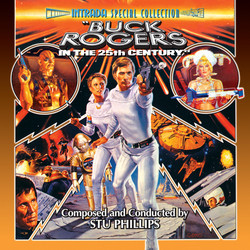 Buck Rogers in the 25th Century Soundtrack (Stu Phillips) - CD cover