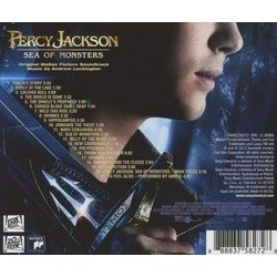 Percy Jackson: Sea of Monsters Soundtrack (Andrew Lockington) - CD Back cover