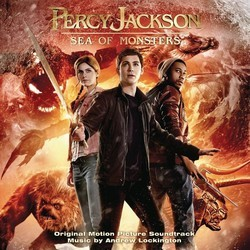 Percy Jackson: Sea of Monsters Soundtrack (Andrew Lockington) - CD cover