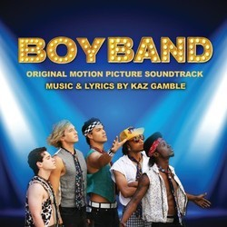 BoyBand Soundtrack (Various Artists) - CD cover