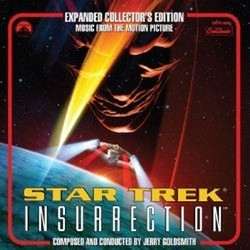 Star Trek: Insurrection Soundtrack (Jerry Goldsmith) - CD cover