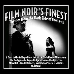 Film Noir's Finest Soundtrack (Various Artists) - CD cover