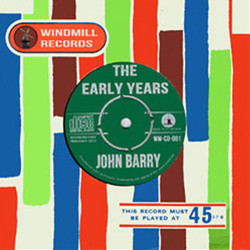 John Barry: The early years Soundtrack  (John Barry) - CD cover
