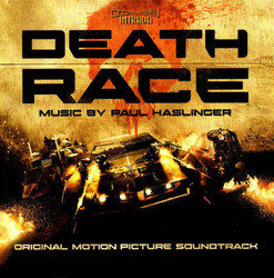 Death Race Trilha sonora (Paul Haslinger) - capa de CD