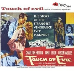 Touch of evil Soundtrack (Henry Mancini) - CD cover