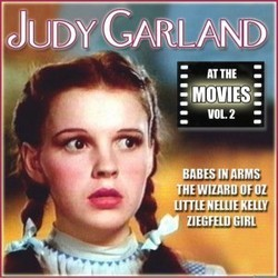 Judy Garland at the Movies, Volume 2 Soundtrack  (Various Artists, Judy Garland) - CD cover