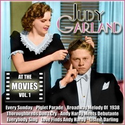 Judy Garland at the Movies, Volume 1 Soundtrack (Various Artists, Judy Garland) - CD cover
