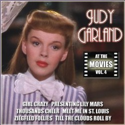 Judy Garland at the Movies, Volume 4 Soundtrack (Various Artists, Judy Garland) - CD cover