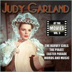 Judy Garland at the Movies, Volume 5 Soundtrack  (Various Artists, Judy Garland) - CD cover