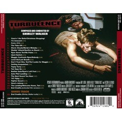 Turbulence Soundtrack (Shirley Walker) - CD Back cover