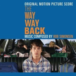 The Way Way Back Soundtrack (Rob Simonsen) - CD cover