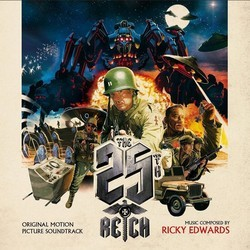 The 25th Reich Soundtrack (Ricky Edwards) - CD cover