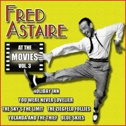 Fred Astaire at the Movies, Volume 3 Soundtrack  (Various Artists, Fred Astaire) - CD cover
