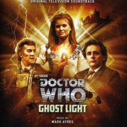 Doctor Who: Ghostlight Soundtrack (Mark Ayres) - CD cover