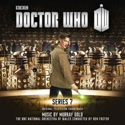 Doctor Who: Series 7 Soundtrack (Murray Gold) - CD cover