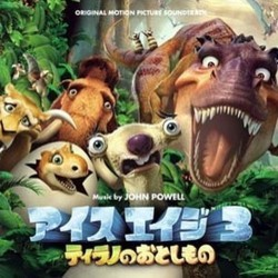 Ice Age: Dawn of the Dinosaurs Trilha sonora (John Powell) - capa de CD