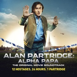 Alan Partridge: Alpha Papa Soundtrack (Various Artists, Ilan Eshkeri) - CD cover