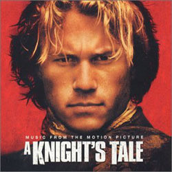 A Knight's Tale Soundtrack (Various Artists, Carter Burwell) - CD cover
