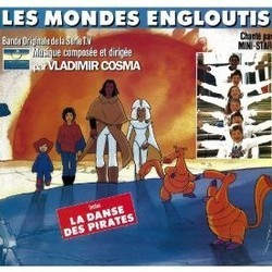 Les Mondes Engloutis Soundtrack (Vladimir Cosma) - CD cover