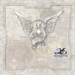 Ys VI Soundtrack (Falcom Sound Team jdk) - CD cover