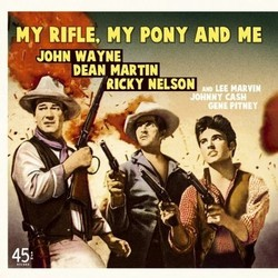 My rifle, my pony and me Soundtrack (Various Artists) - CD cover