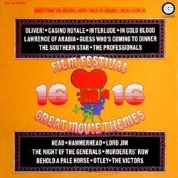 Film Festival: 16 Great Movie Themes Soundtrack (Various Artists) - CD cover