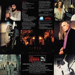 The Amityville Horror Soundtrack (Lalo Schifrin) - CD Achterzijde