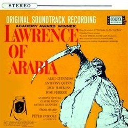 Lawrence of Arabia Soundtrack (Maurice Jarre) - CD cover