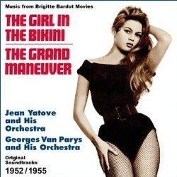 The Girl in the Bikini - The Grand Maneuver Soundtrack (Georges Van Parys, Jean Yatove) - CD cover