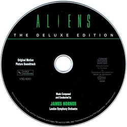 Aliens Soundtrack (James Horner) - cd-carátula