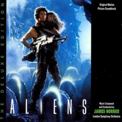 Aliens Soundtrack (James Horner) - Carátula