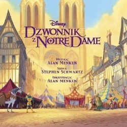The Hunchback of Notre Dame Soundtrack (Alan Menken) - CD-Cover