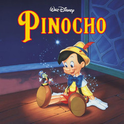 Pinocho Soundtrack (Leigh Harline, Paul J. Smith) - CD cover