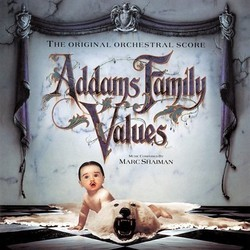 Addams Family Values Soundtrack (Marc Shaiman) - CD-Cover