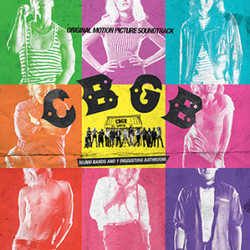 CBGB Soundtrack (Various Artists) - CD cover
